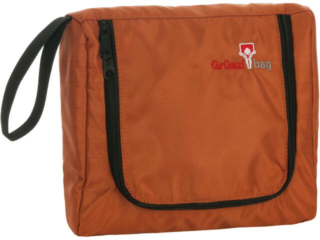 Grüezi-Bag Flatbag Washbag Orange